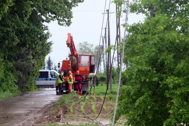 Ofiary nawałnicy pod Lublinem liczą straty. Uszkodzonych jest 90 budynków