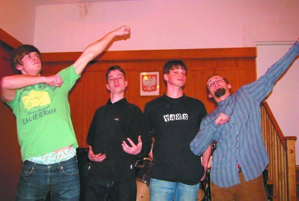 Młodzi i zdolni (od lewej): Wojtek Fidziukiewicz, Marcin Bek, Filip Lisowski i Janek Wyszkowski