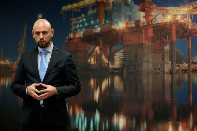 Konferencja prasowa zorganizowana przez firmę Hydro-Naval.