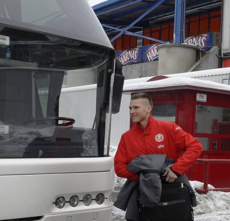 Budka ochroniarza przy wejściu na stadion Widzewa