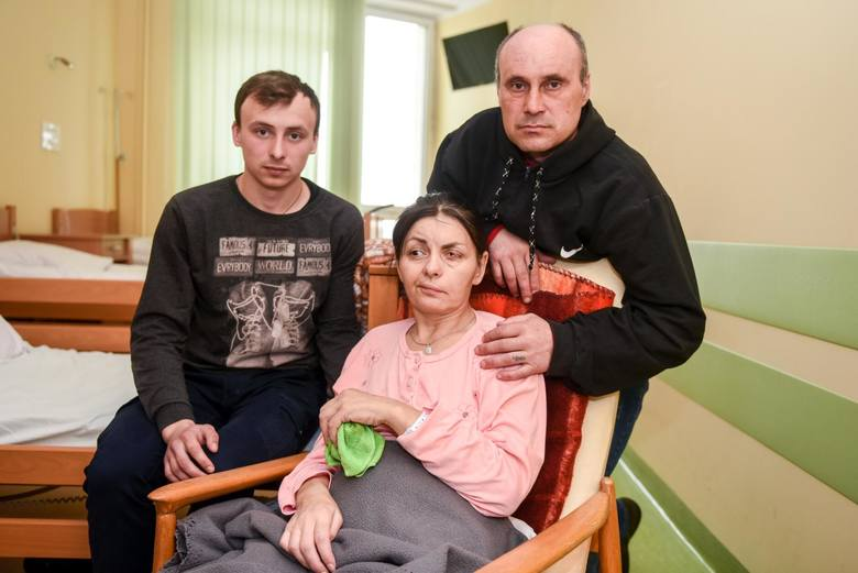 Ukrainka Oksana wymaga opieki ze strony bliskich. Jędrzej C. w ramach pierwotnej ugody miał przekazać pieniądze na jej rehabilitację.