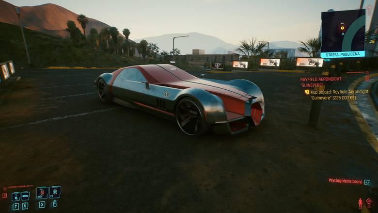 Rayfield to jeden z najdroższych pojazdów w grze, ale z pewnością dostarcza wielu wrażeń w czasie jazdy.