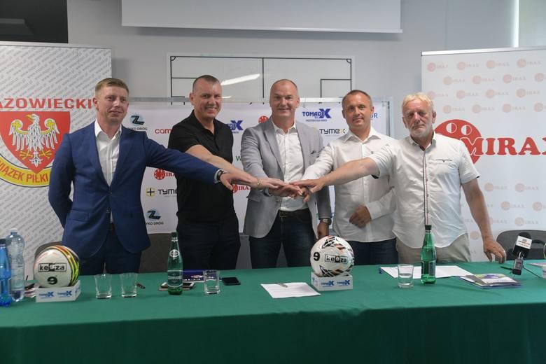 W poniedziałek w siedzibie ROZPN podpisano umowy ze sponsorami tytularnymi rozgrywek.