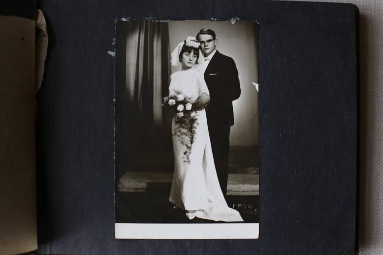 Państwo Grychtołowie, zdjęcie z rodzinnego albumu.