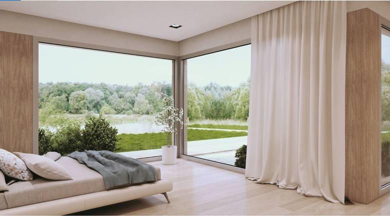 Kluczem do uzyskania wyśrubowanych parametrów jest szczelna bryła budynku. Jednym z jej gwarantów jest zastosowanie aluminiowych systemów okienno-drzwiowych.