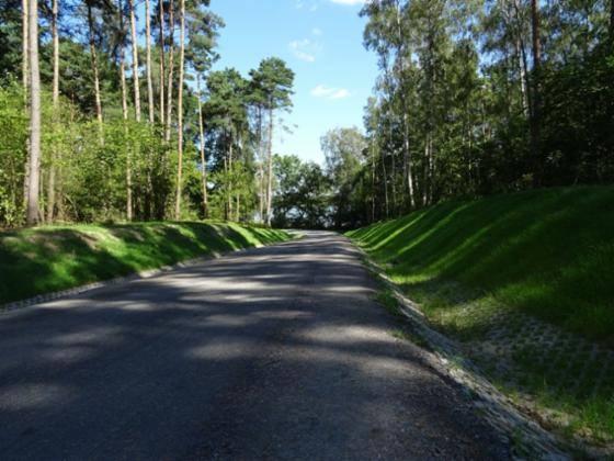 Przebudowa drogi leśnej w Leśnictwach Staropole i Lubrza oraz budowa przepustu na rzece Rakownik