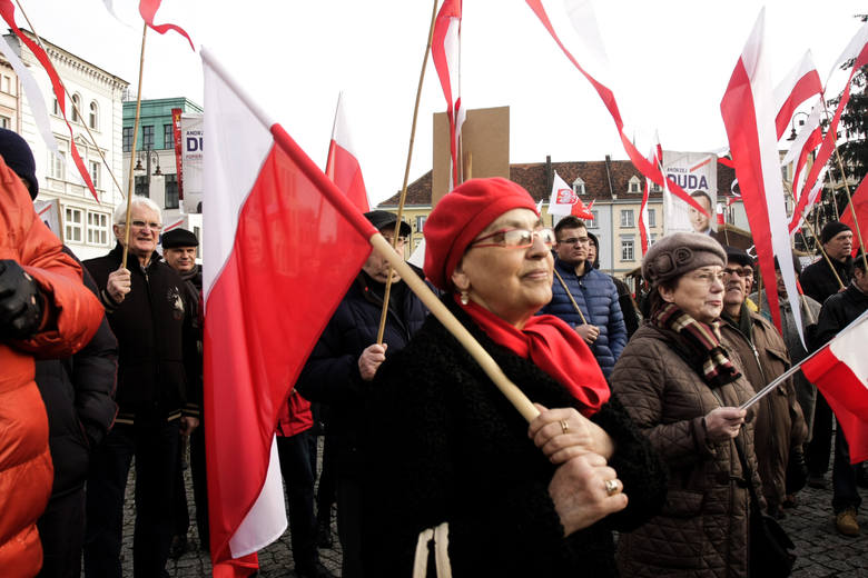 Manifestacje w Bydgoszczy.