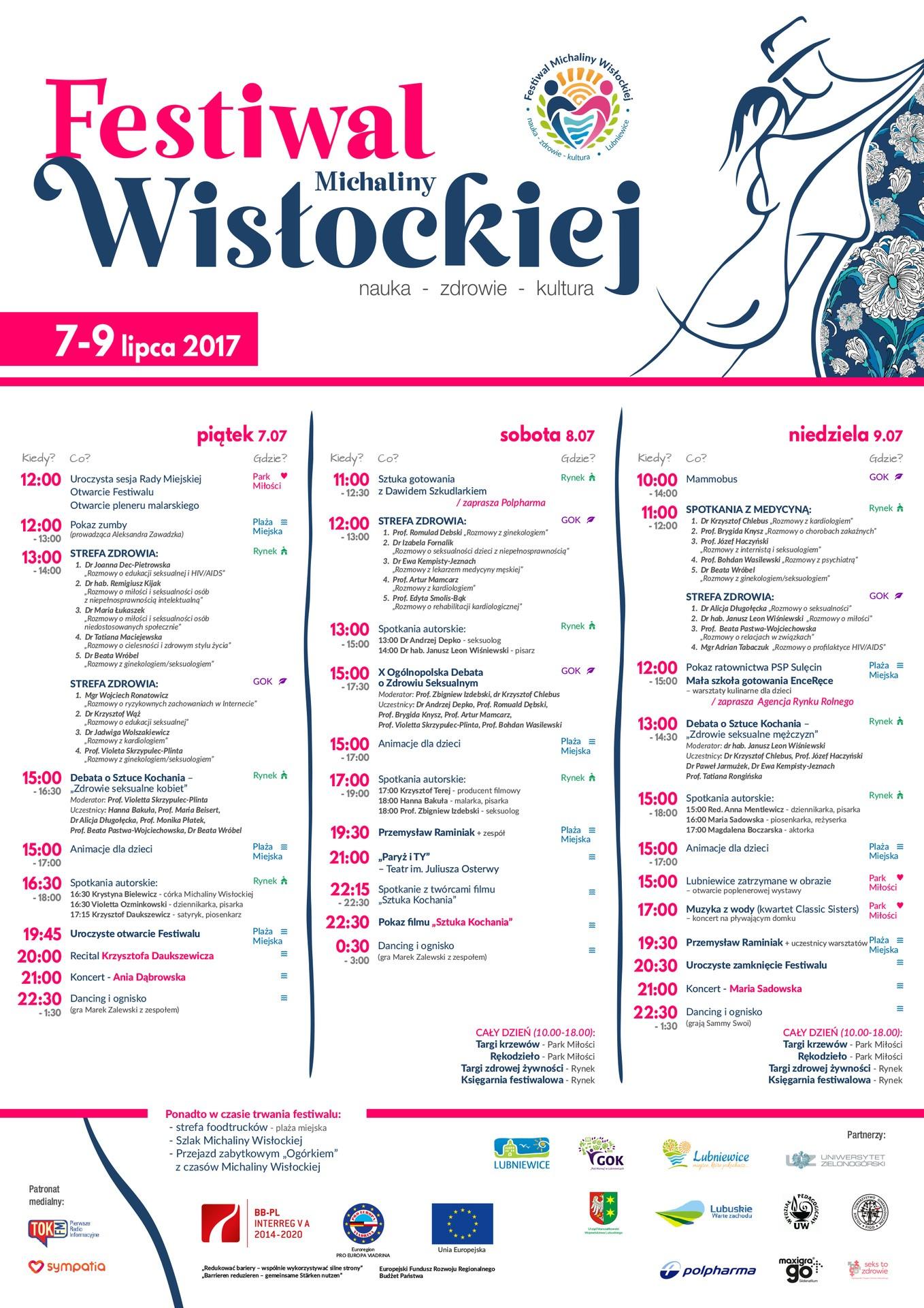 I Festiwal Michaliny Wisłockiej w Lubniewicach