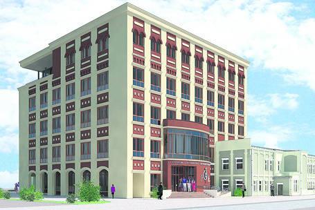 Budynek ma zostać oddany do użytku w roku akademickim 2012/2013.