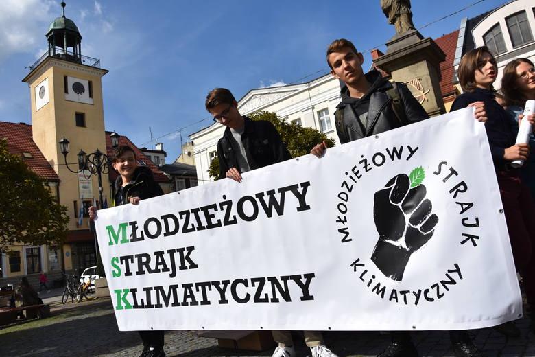 Młodzieżowy Strajk Klimatyczny w Rybniku