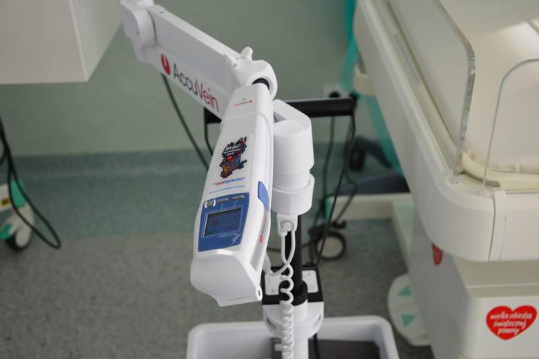 Sprzęt od WOŚP dla myślenickiego szpitala (oddział neonatologii)