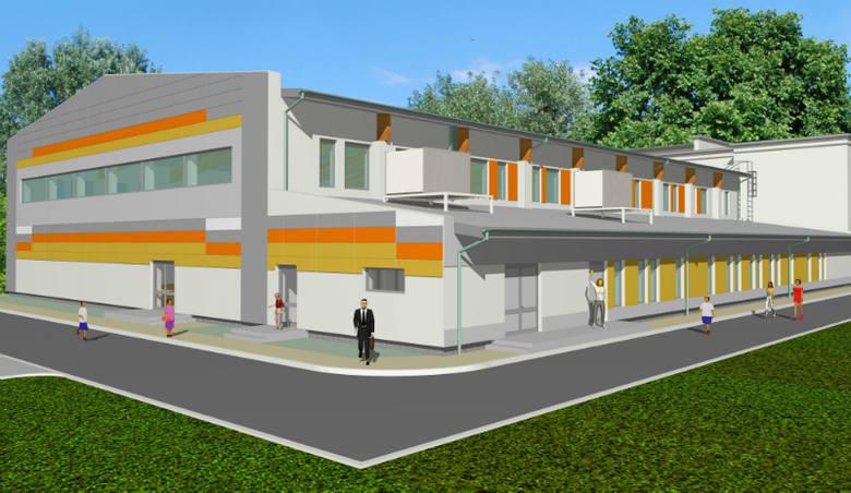 Przy ulicy Białej w Radomiu budują salę gimnastyczną. Prace mają się zakończyć w połowie przyszłego roku