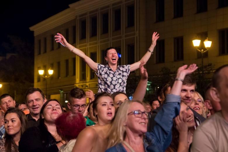 Golec uOrkiestra zakończyli koncert Białystok - Miasto Dobrej Muzyki