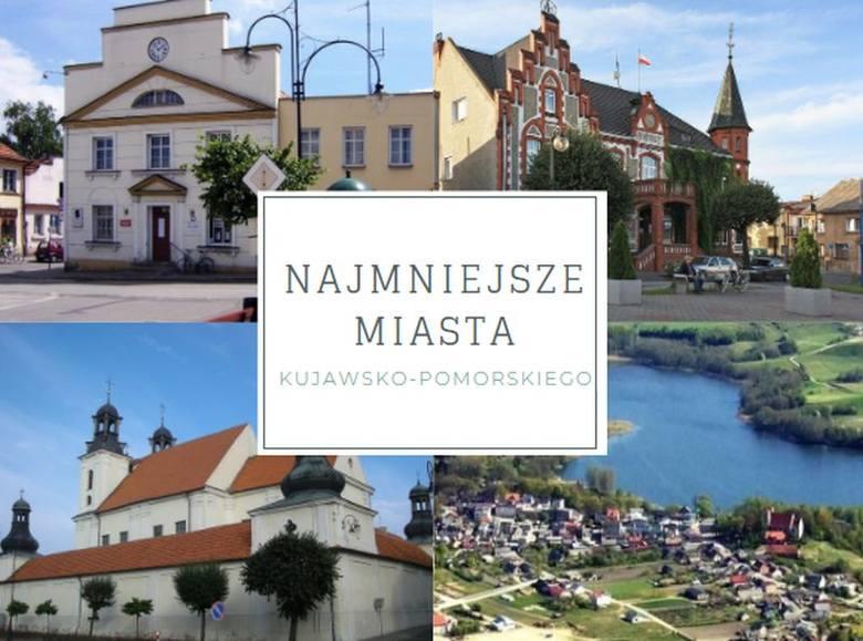 W województwie kujawsko-pomorskim mamy 52 miasta.  Do największych należą Bydgoszcz, Toruń, Włocławek, Grudziądz i Inowrocław. Pozostałe to miejscowości,