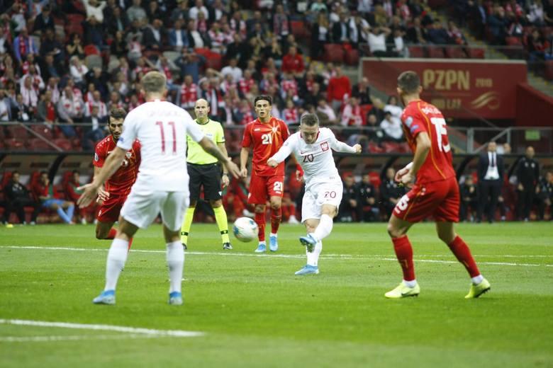 Reprezentacja Polski wygrała z Macedonią Północną 2:0 i awansowała na mistrzostwa Europy, które odbędą się w 2020 r. Gra drużyny Jerzego Brzęczka nie