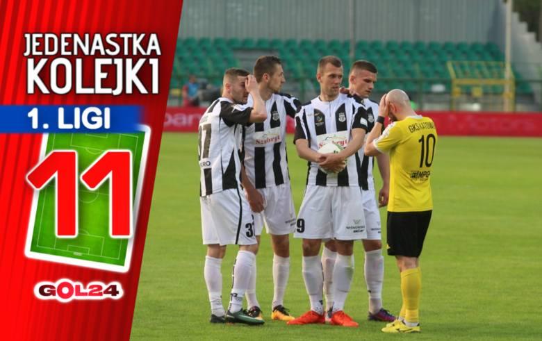 Sandecja Nowy Sącz pokonała GKS Katowice w meczu na szczycie i jest już więcej niż jedną nogą w Ekstraklasie! Potknięcia graczy Jerzego Brzęczka nie