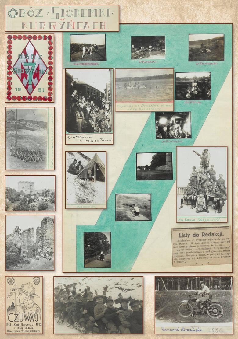 """100-letnią i bardzo dobrze udokumentowaną historię bydgoskiego szczepu """"Zielonej Siódemki"""" będzie okazja poznać podczas jubileuszowej wystawy dostępnej"""