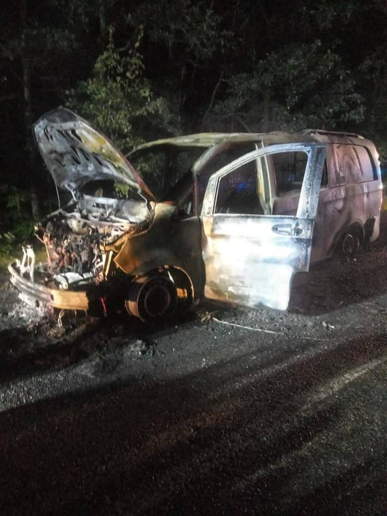 Gmina Rzeczenica, Koczała. Pożary dwóch samochodów