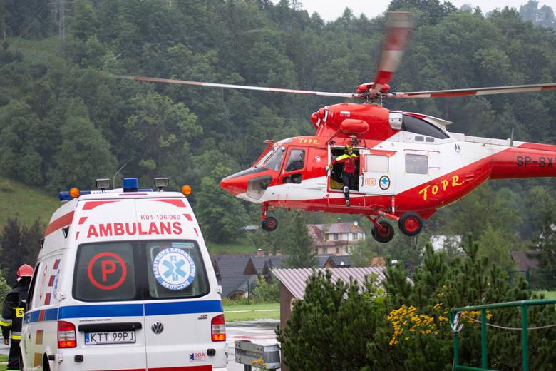 Burza nad Tatrami. Piorun uderzył w Giewont, są ofiary śmiertelne RELACJA NA ŻYWO