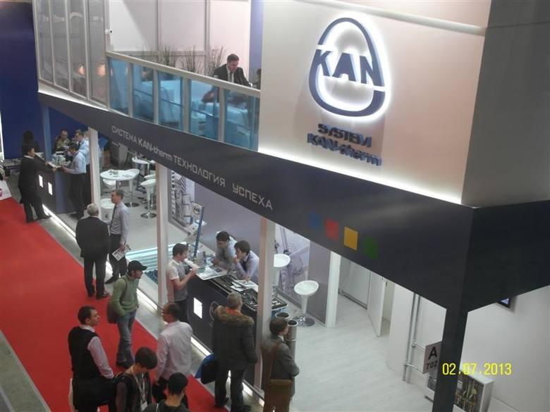 Innowacje spółki KAN z Kleosina na targach w MoskiweSpółka KAN na obszernym, dwupiętrowym stoisku zaprezentowała swoją najnowszą ofertę, zademonstrowała