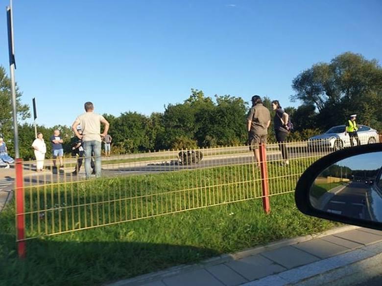 W sobotę, przed godz. 18, na ulicy Świętokrzyskiej w Białymstoku doszło do wypadku