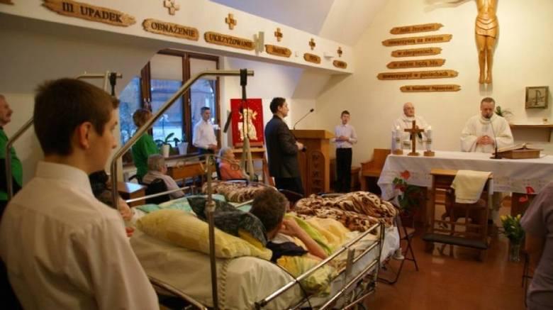 Modlitwa w hospicjum