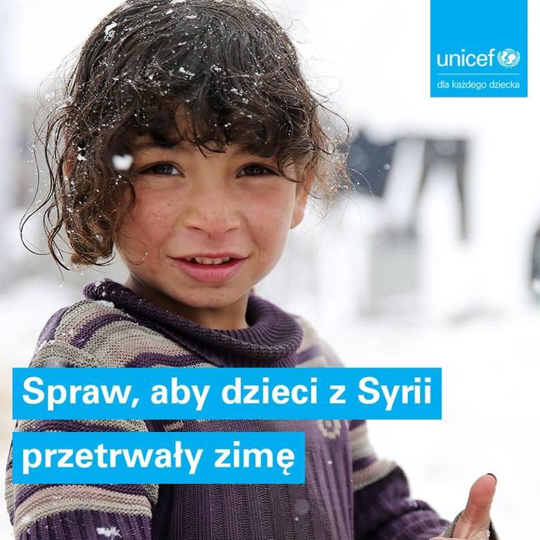 UNICEF: Nadejście zimy zagraża życiu i zdrowiu 1,5 miliona dzieci na Bliskim Wschodzie