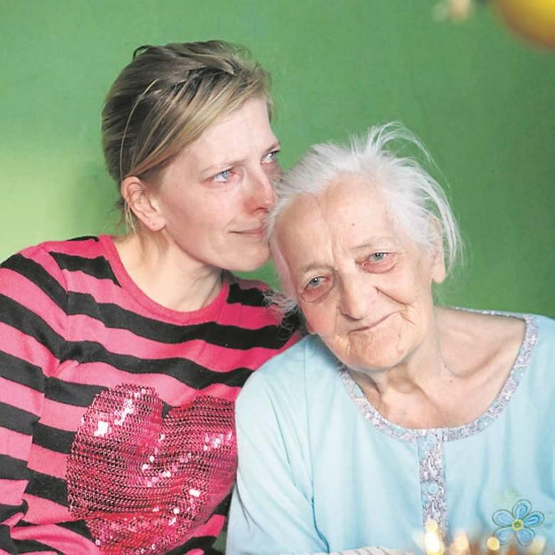Pani Małgorzata opiekuję się 78-letnią mamą. Ona daje jej siłę