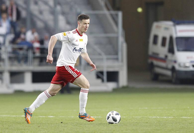 Lukas Bielák żegna się z ŁKS Łódź. Słowak podpisał kontrakt ze Stalą Mielec