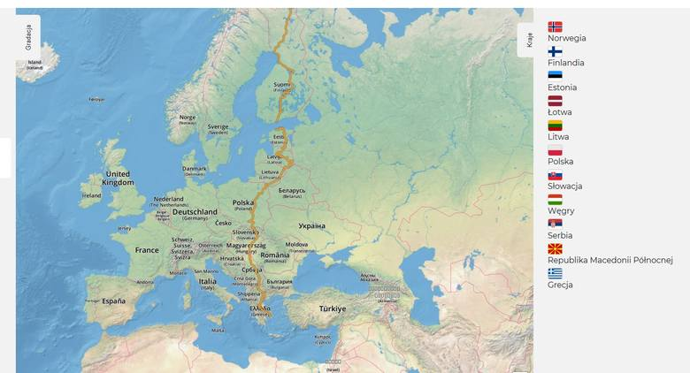 Przez gminę Stąporków będzie przebiegała międzynarodowa trasa rowerowa? Sprawdź propozycje jej przebiegu