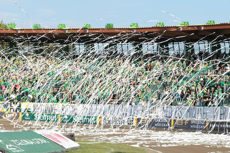 Żużlowcy Stelmetu Falubazu Zielona Góra wygrali z Motorem Lublin 54:36.