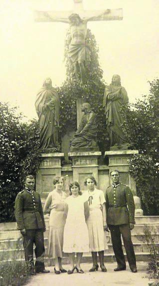 Pamiątka z wojska polskich żołnierzy, którzy zastąpili Prusaków na podgórskim poligonie