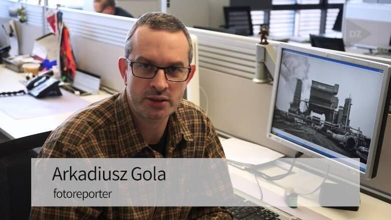 Arek Gola obchodzi 25-lecie pracy w Dzienniku Zachodnim. Prezentuje 25 fotografii.