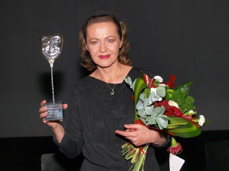 Antonina Choroszy ze Srebrną maską