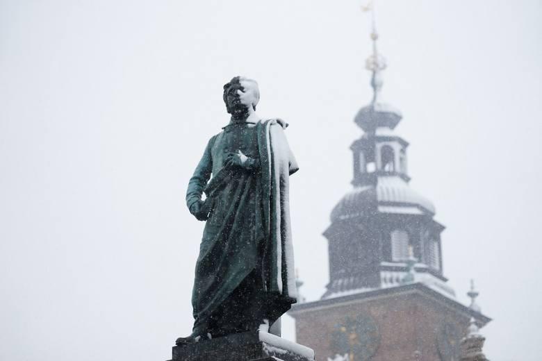 Śnieg w Krakowie