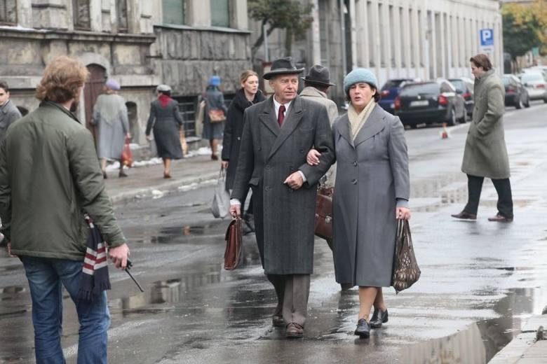 Łódź to miasto meneli! -  Bogusław Linda o naszym mieście! [zdjęcia z planu]