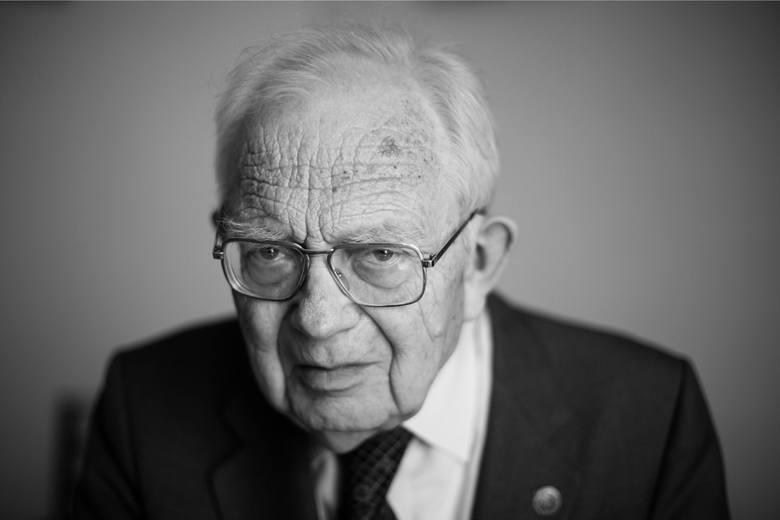 Kraków. Jerzy Wyrozumski nie żyje. Znany profesor, wybitny historyk miał 88 lat