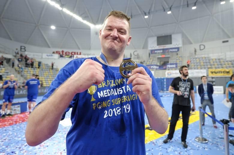 Równo rok temu Gwardia Opole wywalczyła brązowy medal PGNiG Superligi! [ZDJĘCIA]