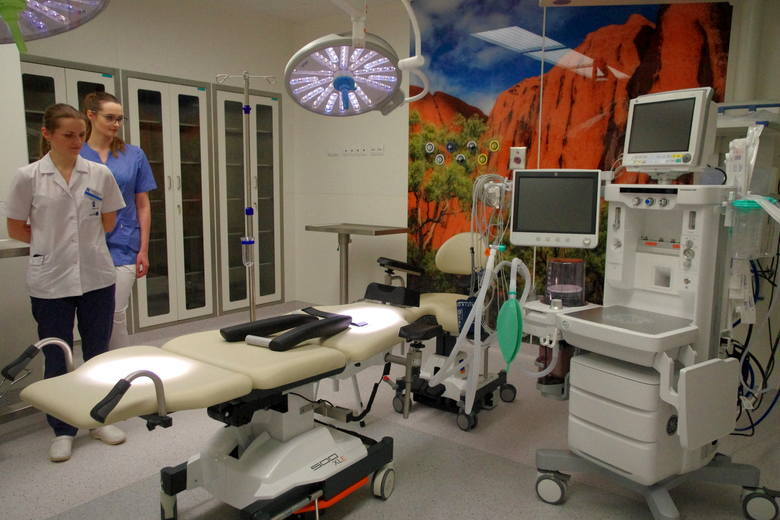 Otwarcie nowego bloku operacyjnego w szpitalu w Tarnobrzegu (ZDJĘCIA)