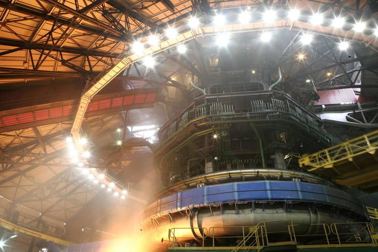 Wielki piec nr 2 w ArcelorMittal Polnad w Dąbrowie Górniczej jest gruntownie remontowany