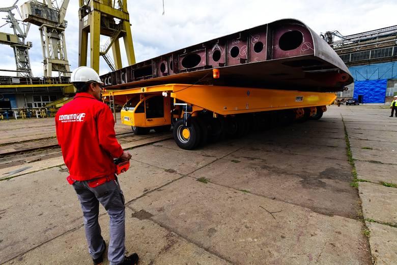Nowy sprzęt w Stoczni Szczecińskiej za 788 tys. euro [ZDJĘCIA, WIDEO]