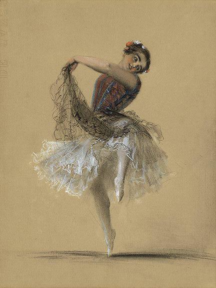 """""""Ogień, siła i energia namiętności to przymioty cechujące jej taniec"""" - recenzował """"Czas""""."""