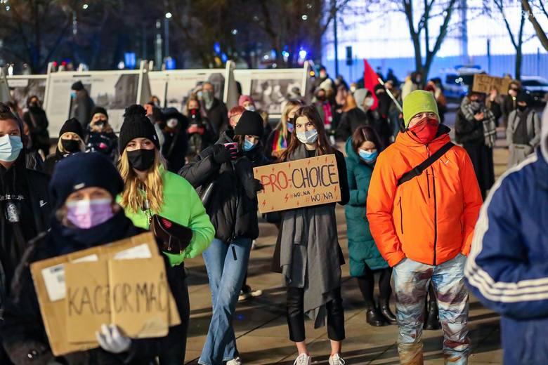 Strajk kobiet w Szczecinie - 28.01.2021