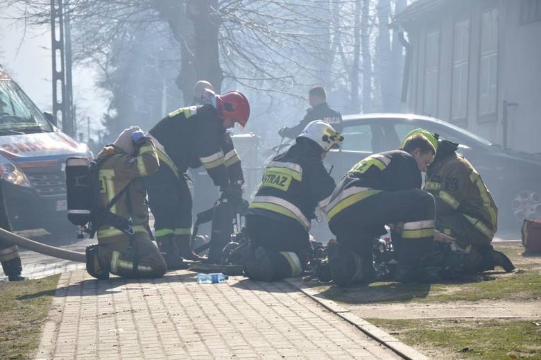 W Łodzi noc upłynęła bardzo spokojnie, w Głownie nad ranem we wtorek 16 lipca 2019 wybuchł pożar młyna