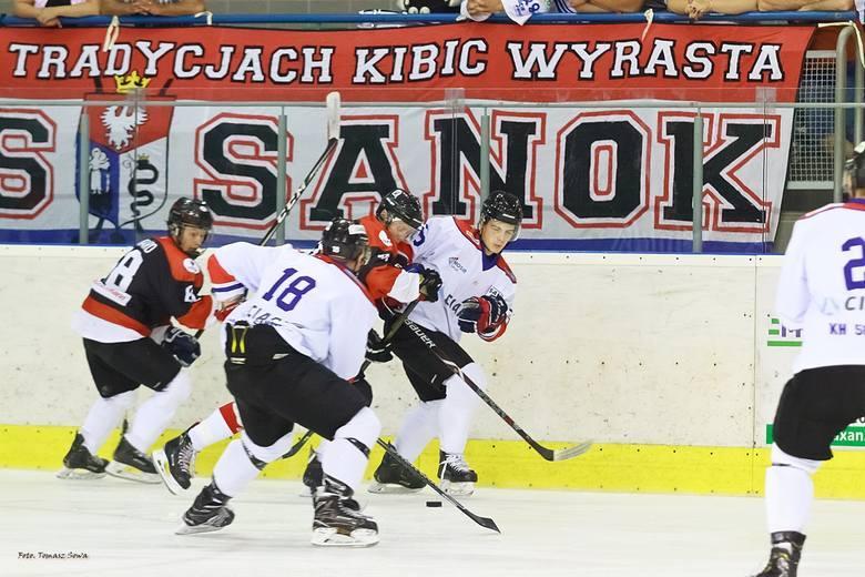 Hokej | 2 liga słowacka. Przewaga tylko na trybunach. CiarkoNiedźwiadki MOSiR Sanok przegrały 2:8