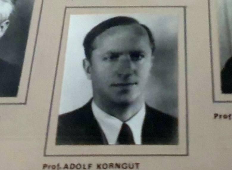 Adolf Korngut po wojnie przeprowadził się do Kluczborka, gdzie był nauczycielem łaciny w Gimnazjum (później przekształconym w Liceum Ogólnokształcące).