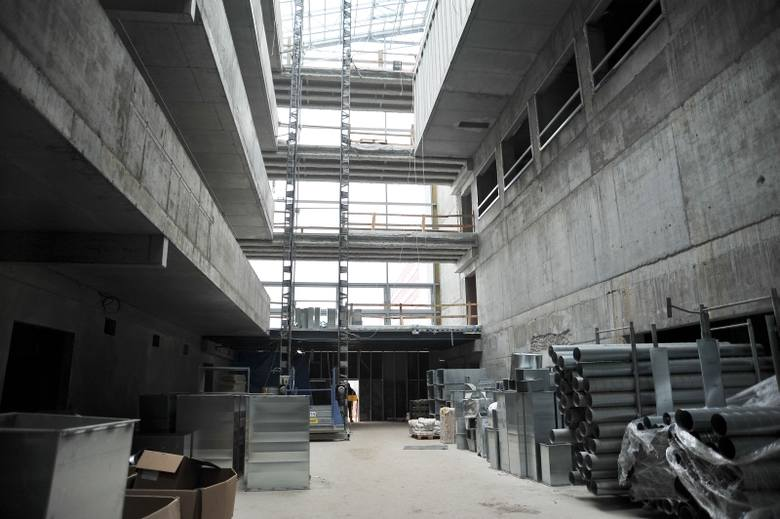 Szpital kliniczny - Nowy budynek (zdjęcia)