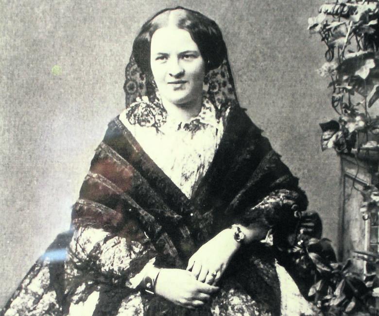 O Leonii Poznańskiej nie wiemy wiele. Mieszkała w pięknym pałacu przy ul. Ogrodowej