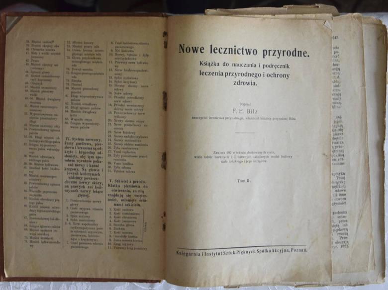 """""""Nowe lecznictwo przyrodne. Książka do nauczania i podręcznik leczenia przyrodnego i ochrony zdrowia"""" to także szczegółowy atlas anatomiczny z 480 rycinami.<br />"""