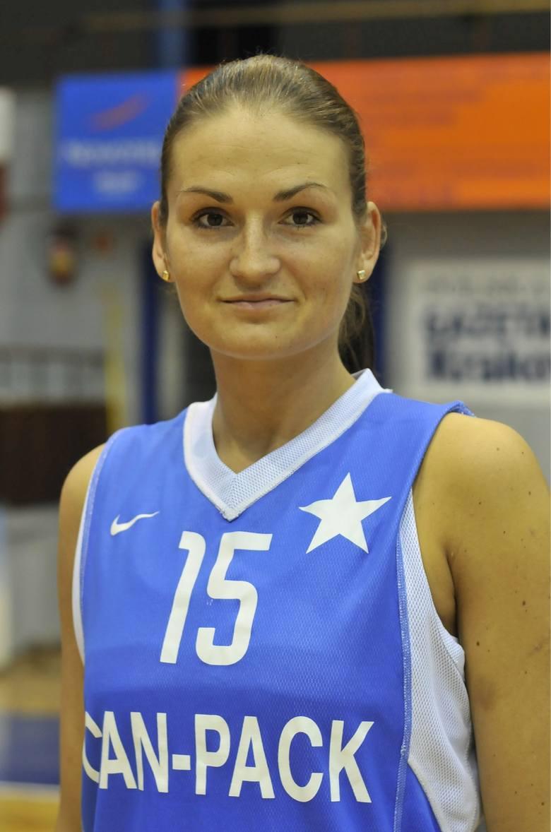 Dorota Gburczyk-Sikora, jeszcze jako zawodniczka Wisły CANPACK